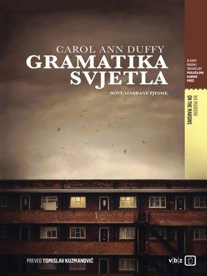 cover image of Gramatika svjetla