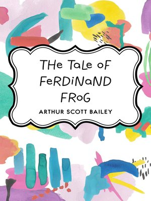 cover image of The Tale of Ferdinand Frog