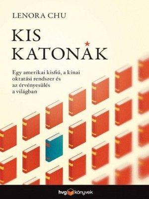 cover image of Kis katonák