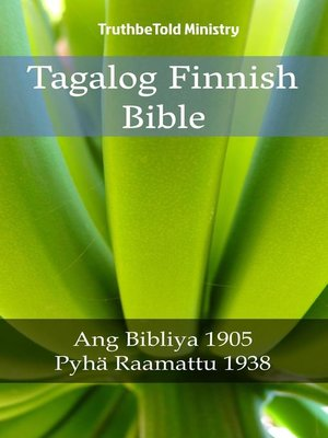 cover image of Tagalog Finnish Bible