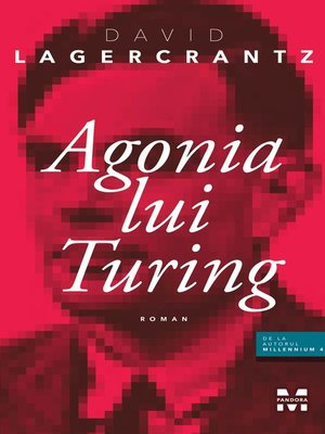 cover image of Agonia lui Turing