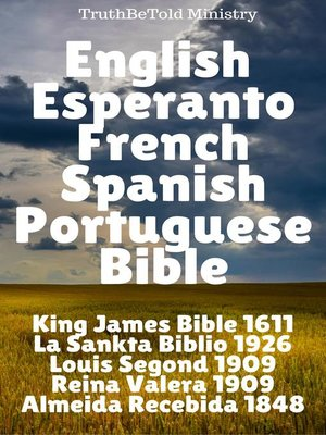 cover image of English Esperanto French Spanish Portuguese Bible