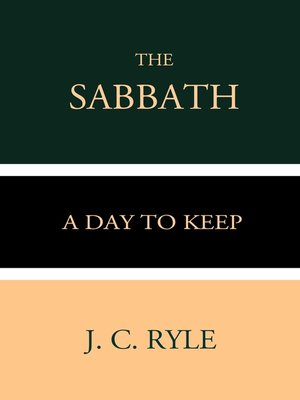 cover image of The Sabbath