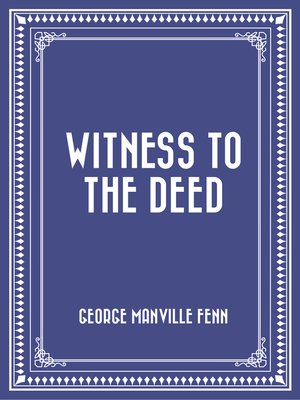 cover image of Witness to the Deed