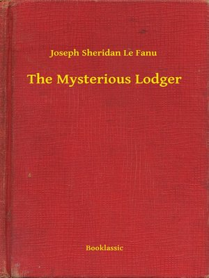 cover image of The Mysterious Lodger
