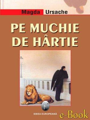 cover image of Pe muchie de hârtie
