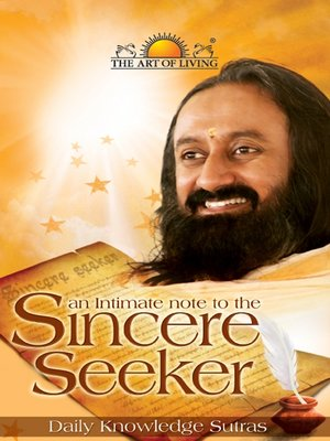 cover image of An Intimate Note to the Sincere Seeker