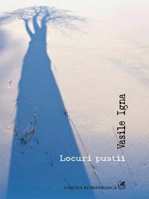 cover image of Locuri pustii