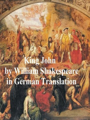cover image of Leben und Tod des Koenigs Johann (King John in German translation)