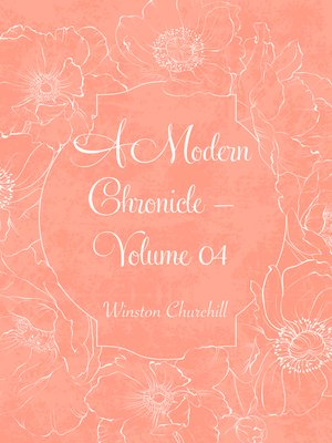 cover image of A Modern Chronicle — Volume 04