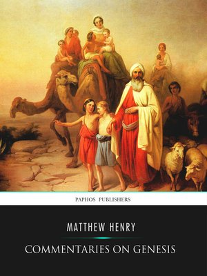 cover image of Commentaries on Genesis