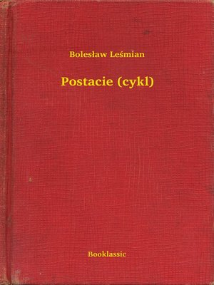 cover image of Postacie (cykl)