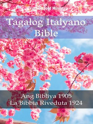 cover image of Tagalog Italyano Bible