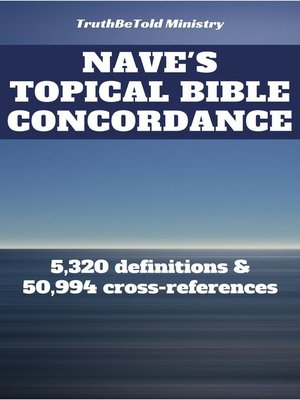 cover image of Nave's Topical Bible Concordance