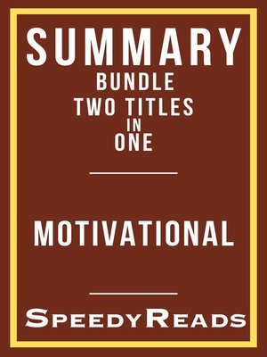 cover image of Summary Bundle--Motivational--Includes  Summary of Own the Day, Own Your Life and Summary of Educated