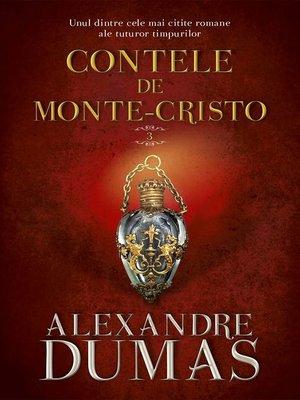 cover image of Contele de Monte-Cristo. Vol. III