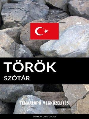 cover image of Török szótár