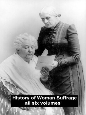 cover image of History of Woman Suffrage