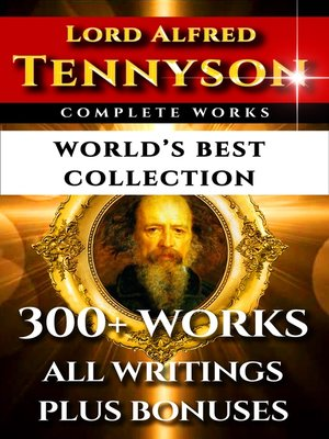 cover image of Tennyson Complete Works – World's Best Collection