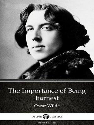 cover image of The Importance of Being Earnest by Oscar Wilde
