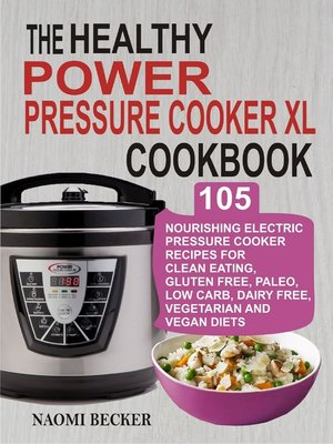 cover image of The Healthy Power Pressure Cooker XL Cookbook