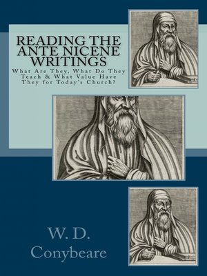 cover image of Reading the Ante Nicene Writings