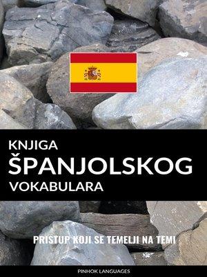 cover image of Knjiga španjolskog vokabulara