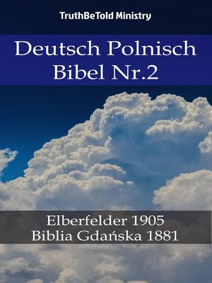 cover image of Deutsch Polnisch Bibel Nr.2