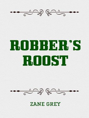 cover image of Robber's Roost