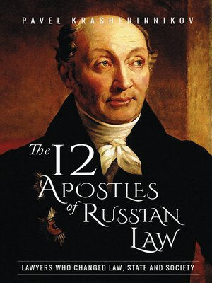 cover image of The 12 Apostles of Russian Law