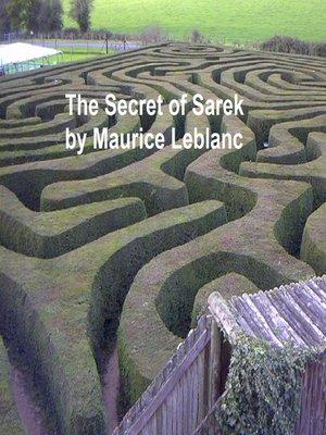 cover image of The Secret of Sarek