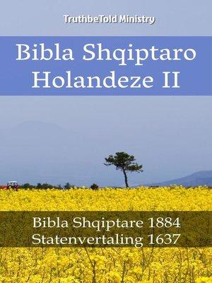 cover image of Bibla Shqiptaro Holandeze II