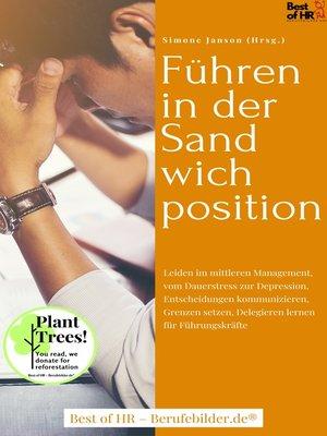 cover image of Führen in der Sandwichposition