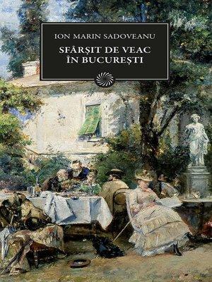 cover image of Sfarsit de veac in Bucuresti