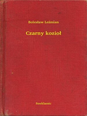 cover image of Czarny kozioł