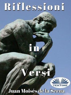 cover image of Riflessioni In Versi