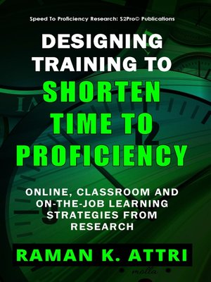cover image of Designing Training to Shorten Time to Proficiency