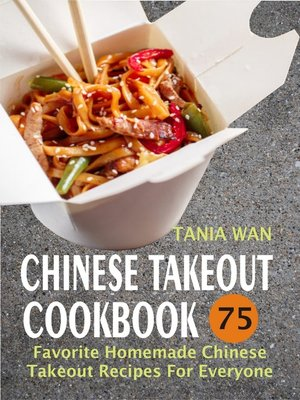 cover image of Chinese Takeout Cookbook