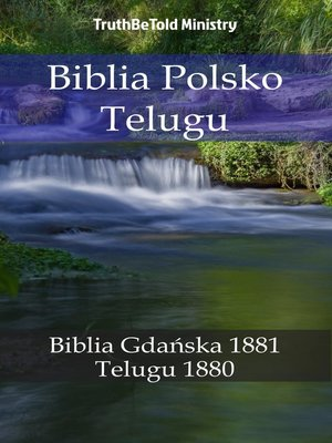 cover image of Biblia Polsko Telugu