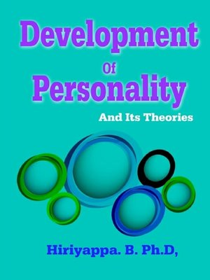 cover image of Development of Personality and Its Theories