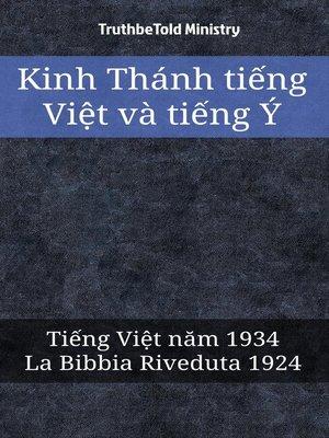 cover image of Kinh Thánh tiếng Việt và tiếng Ý
