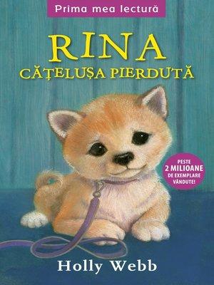 cover image of Rina, cățelușa pierdută