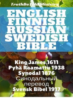 cover image of English Finnish Russian Swedish Bible