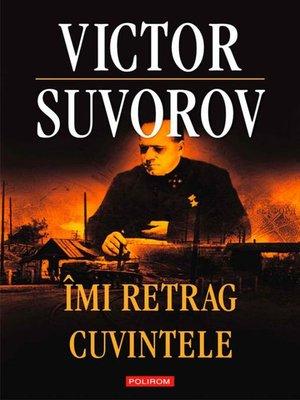 cover image of Îmi retrag cuvintele
