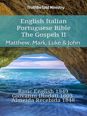 cover image of English Italian Portuguese Bible--The Gospels II--Matthew, Mark, Luke & John