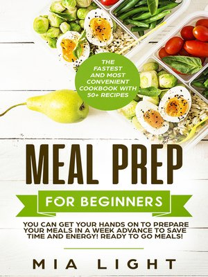 cover image of Meal Prep for Beginners
