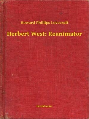 cover image of Herbert West: Reanimator
