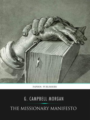 cover image of The Missionary Manifesto