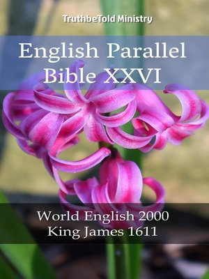 cover image of English Parallel Bible XXVI