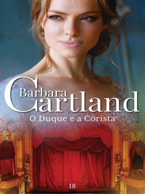 cover image of O Duque e a Corista